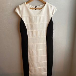 NWT Studio One NY Black and White Dress